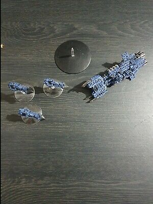 Battlefleet Gothic Imperial Fleet SPACE MARINE Converted INQUISITION BLACK SHIPS • 60£