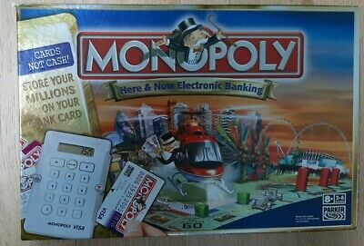 Monopoly Here & Now Electronic Banking (2006) SPARES CARDS REPLACEMENT PARTS  • 2.49£