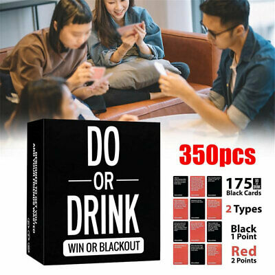 Game For Adults - Do Or Drink - Drinking Card Fun & Dirty Party - Dare Or Shots • 14.89£