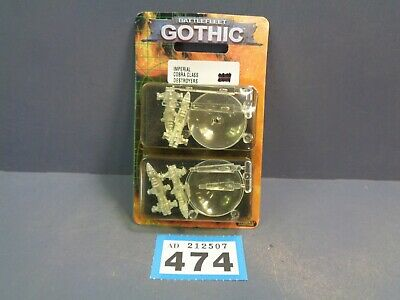 Battlefleet Gothic Imperial Cobra Class Destroyers Blister 474-507 • 25£