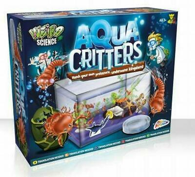 Aqua Critters Hatch Your Own Prehistoric Sealife Kids Science Experiment Kit • 7.89£