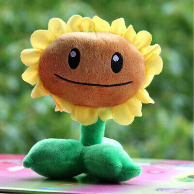 Plants Vs Zombies Series Plush Toy - Sunflower 16cm Tall Soft Stuffed Doll Baby • 4.99£