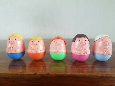 Vintage 1970's Airfix Weeble Family Of Five • 16.99£