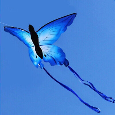Children Beautiful Butterfly Kite Flying Toys Long Tail Kites • 11.17£