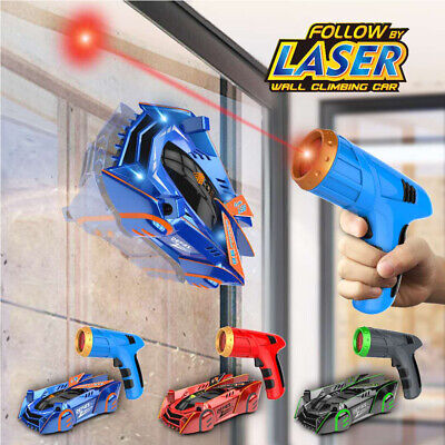 Air Hogs Zero Gravity Laser Racer Red Wall Climbing Vehicle • 11.99£