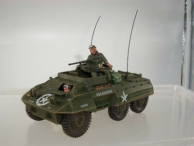 King And Country Dd225 Us Army M20 Armoured Car + Crew Toy Soldier Vehicle • 199.99£