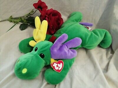 Vintage Ty The Pillow Pals Collection, Antlers, Plush. Buddy, Retired • 7.99£