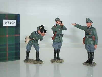 King And Country Ws107 German Army War Correspondent Camera Crew Figure Set • 179.99£