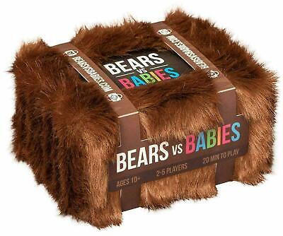 Bears Vs Babies - A Monster-Building Card Game - Family-Friendly Party Game 2020 • 13.98£