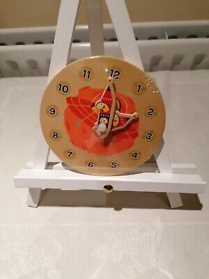 Cbeebies My First Wooden Clock - Assorted, Toys & Games, Brand New • 3.50£