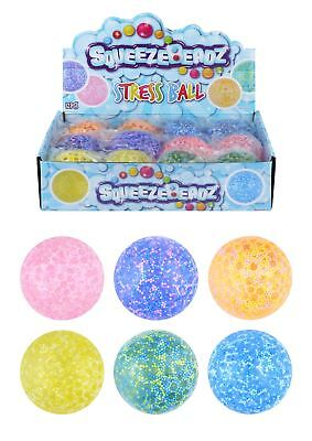 Squishy Snow Foam Beads Balls Putty Slime Stress Relief Kid Party Bag Filler Toy • 5.99£