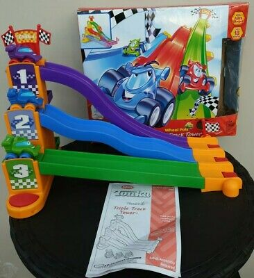 Playskool Tonka Truck And Friends Tripple Track Tower With Sounds • 19.99£