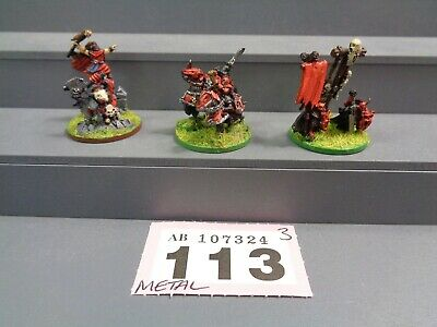 Games Workshop Warmaster Chaos Characters / Everchosen Characters 113-324 • 30£