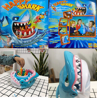 Kids Shark Bite Game Desktop Shark Trap Party Toy Interactive Xmas Gift M8F5D • 15.99£