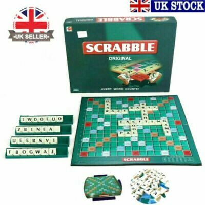 Original Scrabble Board Game Family Kids Adults Educational Toys Puzzle Game • 6.59£