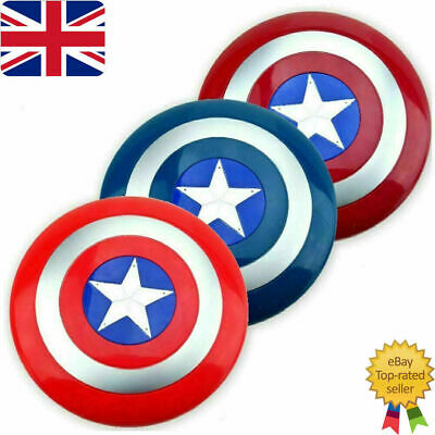 Avengers Captain America Shield With LED Light & Collectible Kids Toy Gift UK • 8.89£