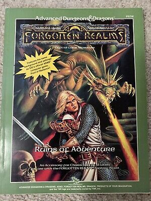 AD&D Forgotten Realms Ruins Of Adventure TSR 9238 Dungeons Dragons • 18£
