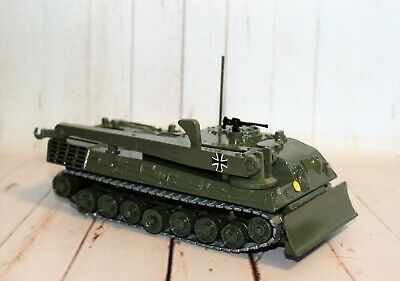 *RESTORED DINKY* CODE 3 LEOPARD RECOVERY TANK No.699 • 23£