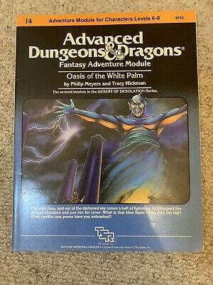 TSR - AD&D - I4 Oasis Of The White Palm - Module 9053 Dungeons Dragons • 20£