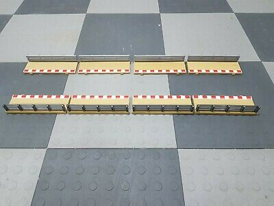 Scalextric 1:32 Track Borders & Barriers  C8223 L8681 Half Straight X 8 Lot 2 • 16.99£