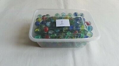 Box Of 200 Glass Marbles (lot1) • 5.99£