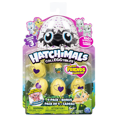 Hatchimals CollEGGtibles Season 3 - 4 Pack And Surprise • 5£