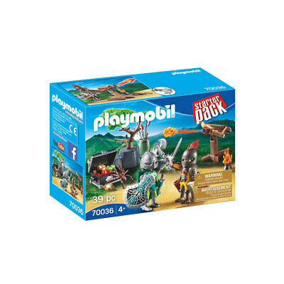 Playmobil 70036 Knights Starter Pack With Treasure • 10.40£