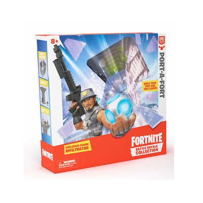 Fortnite Battle Royale 5cm Collection: Port-A-Fort And Exclusive Figure • 7.50£