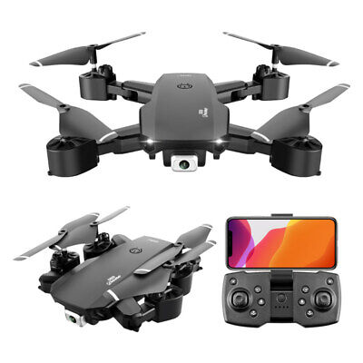Foldable RC Drone Quadcopter With 2.4G HD 4K Wide-angle Dual Camera Drone UK~ • 26.38£