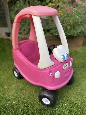 Little Tikes Cozy Coupe Pink/white Car • 35£
