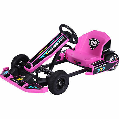 Renegade Edge 36V Lithium Children's Ride On Electric Go Kart - Pink • 379.95£