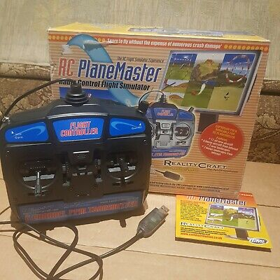 RealityCraft RC Plane Master Flight Simulator RCSIM41 MODE 2 SUPERB CONDITION  • 16.50£