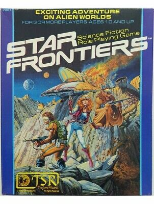 Star Frontiers Science-Fiction Roleplaying Game Box Set 1st Edition TSR RPG • 87.99£