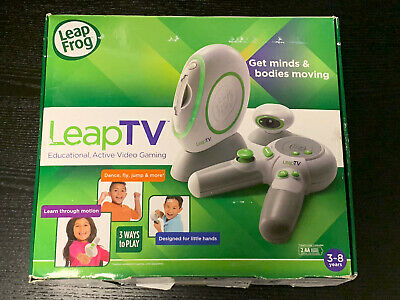 LeapFrog LeapTV Console + 2 Games, Educational Active Video Gaming For Kids 3-8y • 22.99£