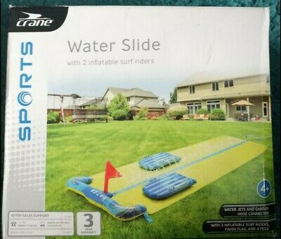 Crane Water Slide With Two Inflatable Surf Riders- NEW/UNOPENED • 10.20£