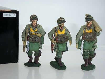 King And Country Dd265-2 Us Army Airborne Paratroopers Walking Toy Soldier Set • 179.99£