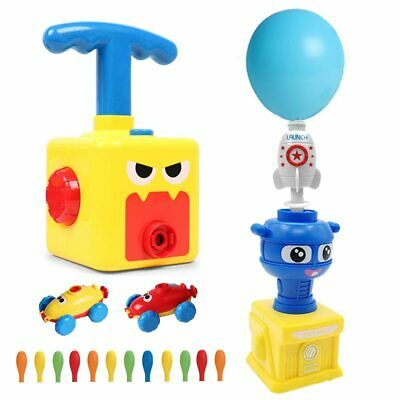 Balloon Launch Tower Toy Puzzle Fun Education Inertia Balloon Car Science Toy • 12.19£