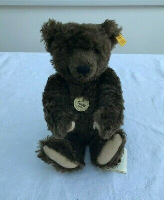 Steiff Brown Mohair Bear 1920 Replica Growler No.000836 35cm Damage To Paw SL446 • 39.99£