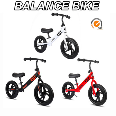 Kids Balance Bike Running Walking Training Bicycle Kids Gift Adjustable Seat UK • 21.99£
