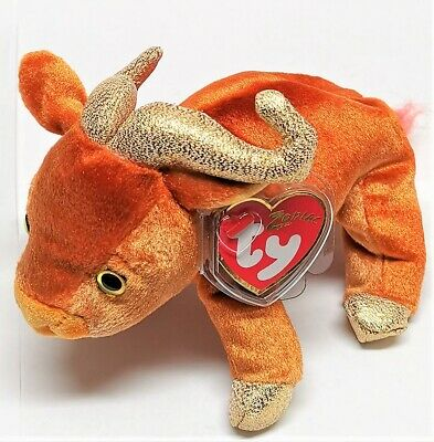 Ty Original Beanie Baby - Zodiac OX Complete With Tags • 7.95£