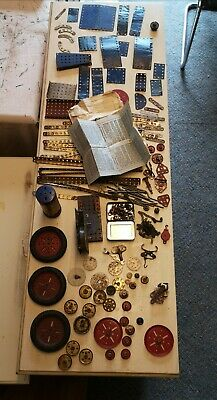 Vintage Meccano Job Lot Including Clockwork Motor No.2 • 19.30£