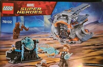 Lego Marvel Super Heroes Thor's Weapon Quest 76102 With Instructions No Box • 0.99£