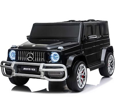 Licensed 4WD High Door Mercedes AMG G63 Children's 24V Ride On Jeep - 3 Colours  • 369.95£