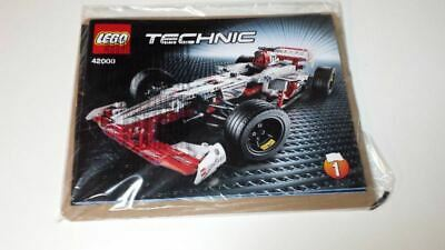 Lego Technic Model Race 42000 Grand Prix Racer - INSTRUCTIONS MANUAL ONLY - New • 14.50£