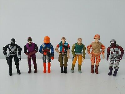 *vintage Gi Joe Action Figure Bundle X8 Hasbro-exc Cond* • 39.99£