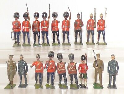 SB07 - Britains Military Lead Soldiers Marching • 12.99£