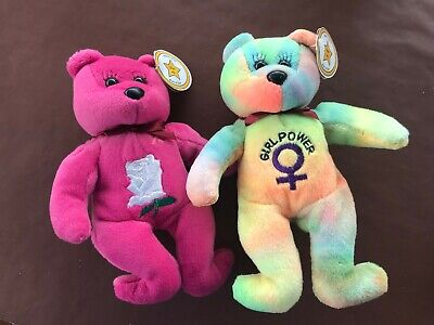 Two Celebrity Bears - Born A Star Bears  # 2 And # 8 • 15£