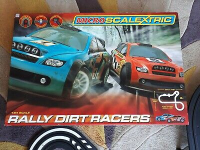 Micro Scalextric Rally Dirt Racers • 14.99£
