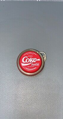 Vintage 1980s Coca-Cola Coke Professional Yo-Yo Genuine Russell Spinner Rare Toy • 26£