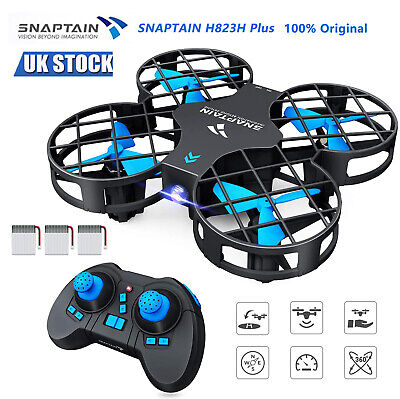 SNAPTAIN H823H Plus Mini Drone RC Pocket For Kids Beginners 2.4G Remote Control • 25.69£